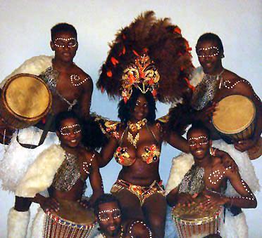 Сексуальные танцы африканских стран