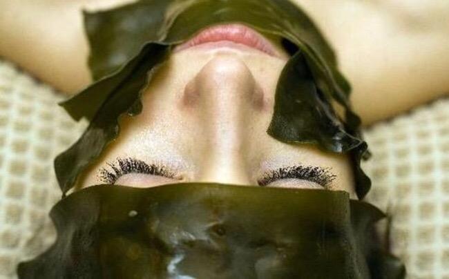 Морское чудо: японская маска из водорослей
